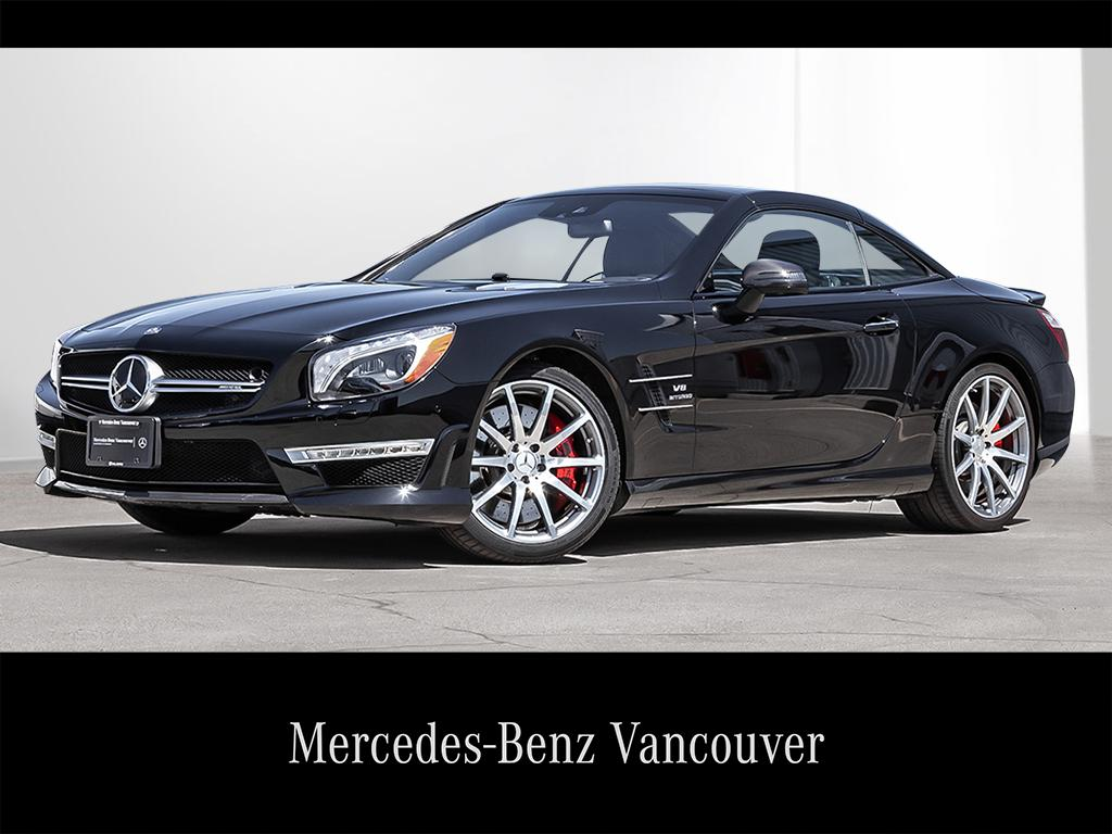 Certified Pre-Owned 2016 Mercedes-Benz SL-CLASS SL63 AMG