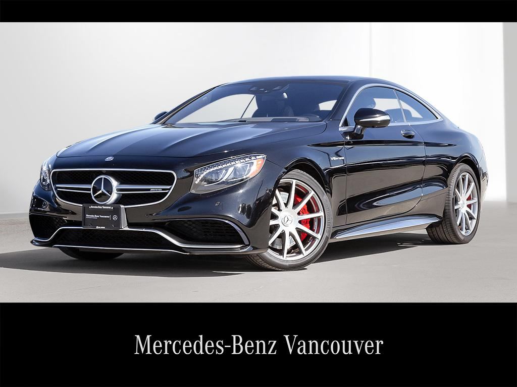 S63 Amg Coupe >> Certified Used 2015 Mercedes Benz S63 Amg 4matic 2 Door Coupe