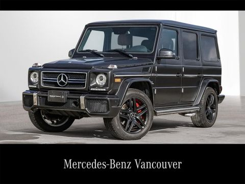 Pre-Owned 2014 Mercedes-Benz G-CLASS G63 AMG