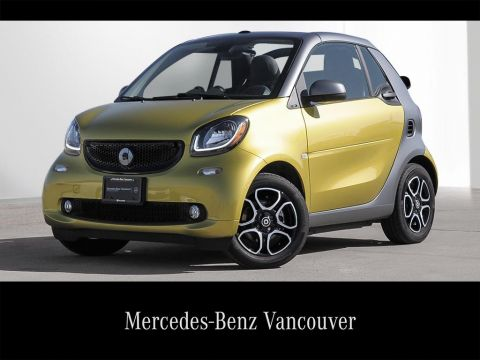 Certified Pre-Owned 2017 smart fortwo cab fortwo